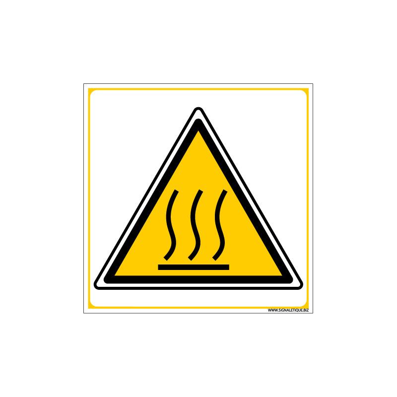 PANNEAU DANGER HAUTES TEMPERATURES (C0035)