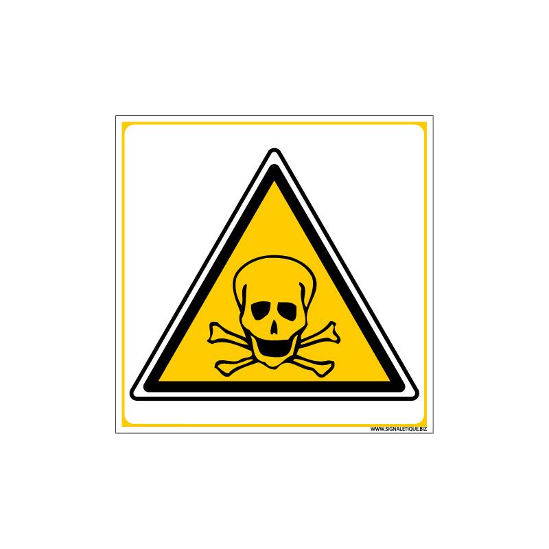 PANNEAU DANGER DE MORT (C0044)