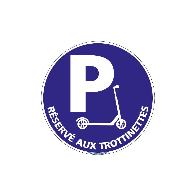 PANNEAU RESERVE AUX TROTTINETTES (L0767)