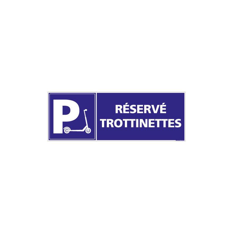 PANNEAU RESERVE TROTTINETTES (L0771)