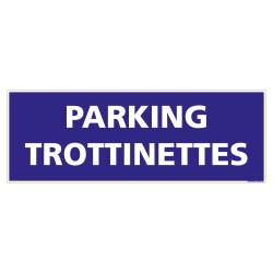 PANNEAU PARKING POUR TROTTINETTES HORIZONTAL (L0773)