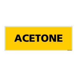 Panneau de Signalisation danger ACETONE (C0081)