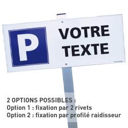 KIT PARKING RESERVE PERSONNALISABLE (W0159)