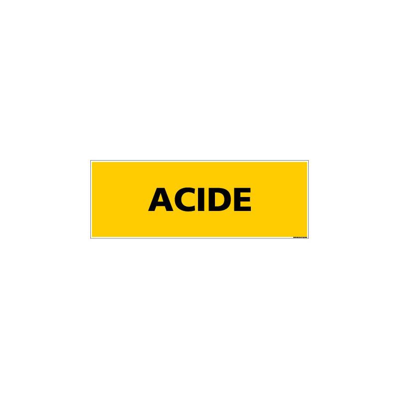 Panneau de Signalisation danger ACIDE (C0083)