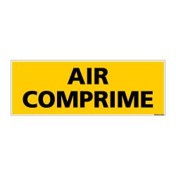 Panneau de Signalisation danger AIR COMPRIME (C0090)