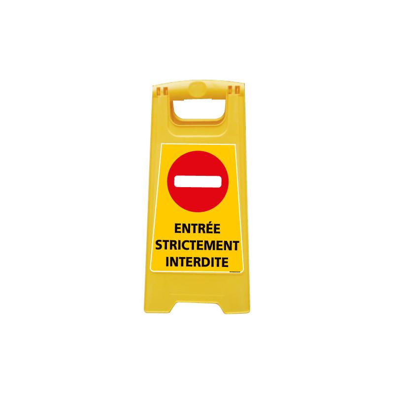 CHEVALET ENTREE STRICTEMENT INTERDITE (WPSG695I)