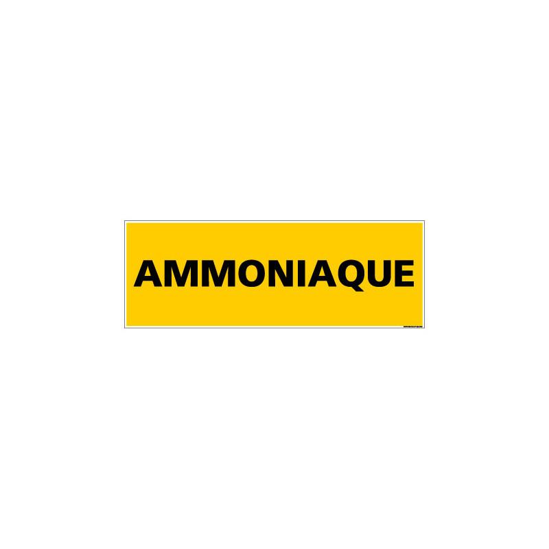 Panneau de Signalisation danger AMMONIAQUE (C0093)