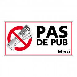 AUTOCOLLANT STOP PUB (G1275)