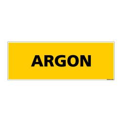 Panneau de Signalisation danger ARGON (C0098)