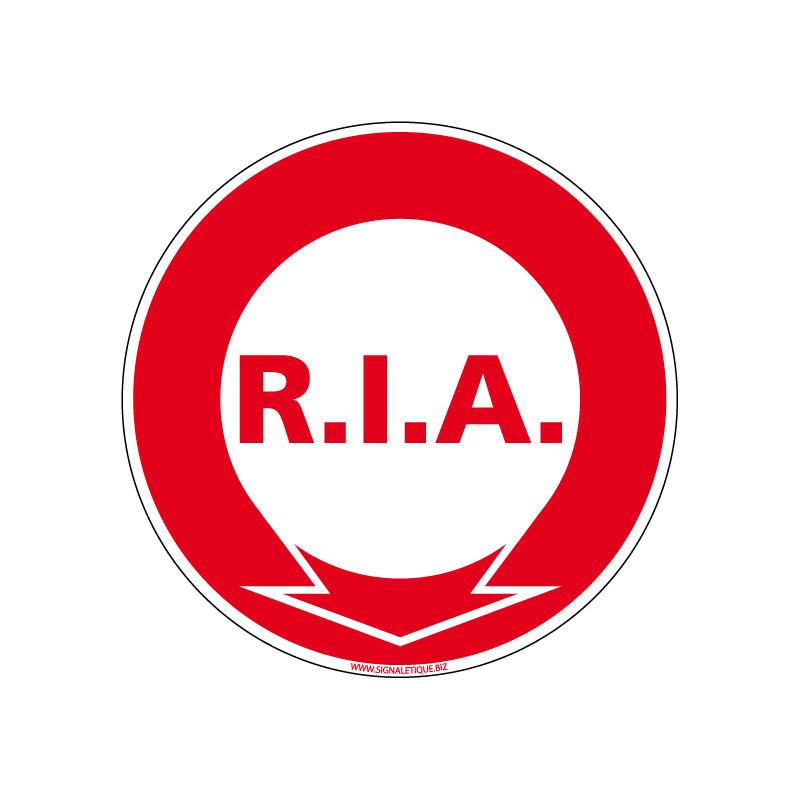 Panneau Incendie R.I.A. (A0050)