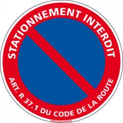 Panneau Interdit de Stationner (L0016PC)