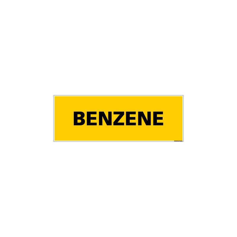 Panneau de Signalisation danger BENZENE (C0114)