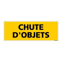 Panneau de Signalisation danger CHUTE D'OBJETS (C0121)