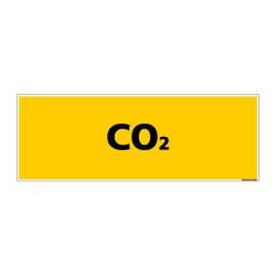 Panneau de Signalisation danger CO2 (C0122)
