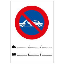 Panneau de signalisation - Stationnement (L0257)