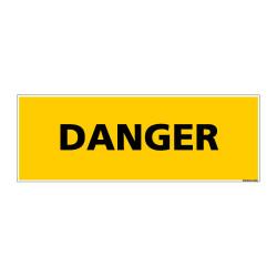 Panneau de Signalisation danger DANGER (C0125)