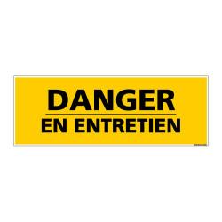 Panneau de Signalisation danger DANGER - EN ENTRETIEN (C0126)