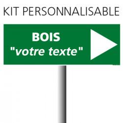 """KIT PANNEAU D'INDICTION """"BOIS"""" (W0126)"""