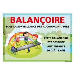 PANNEAU PERSONNALISABLE BALANCOIRE (H0511-PERSO)