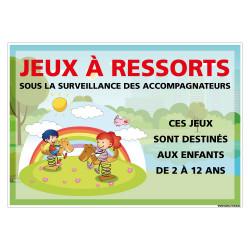PANNEAU PERSONNALISER POUR JEUX RESSORTS (H0512-PERSO)