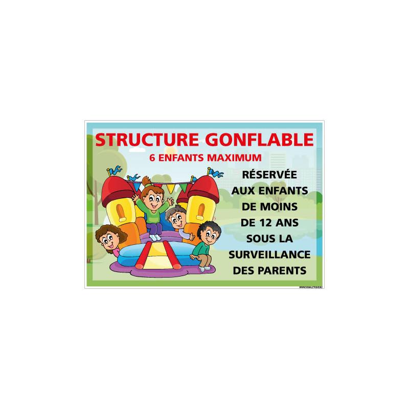 PANNEAU STRUCTURE GONFLABLE PERSONNALISABLE (H0513-PERSO)