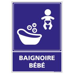 PANNEAU BAIGNOIRE BEBE (G1268)