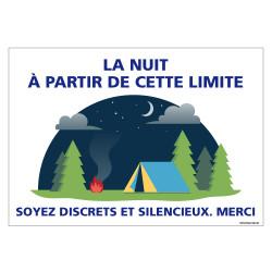 PANNEAU SOYEZ DISCRETS ET SILENCIEUX (H0319)