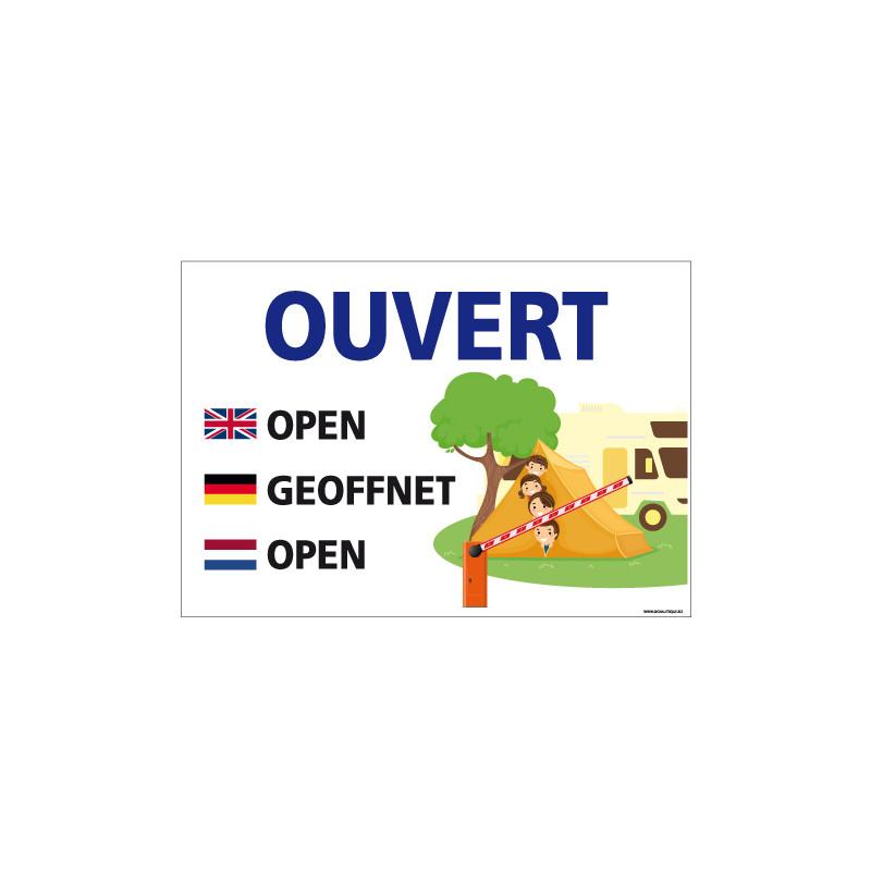 PANNEAU OUVERTURE (H0324)