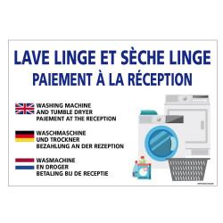 PANNEAU LAVE LINGE ET SECHE LINGE (H0331)