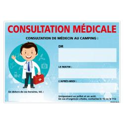 PANNEAU CONSULTATION MEDICALE (H0461-PERSO)