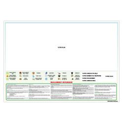 PANNEAU PERSONNALISABLE PLAN DE VOTRE CAMPING (H0502)