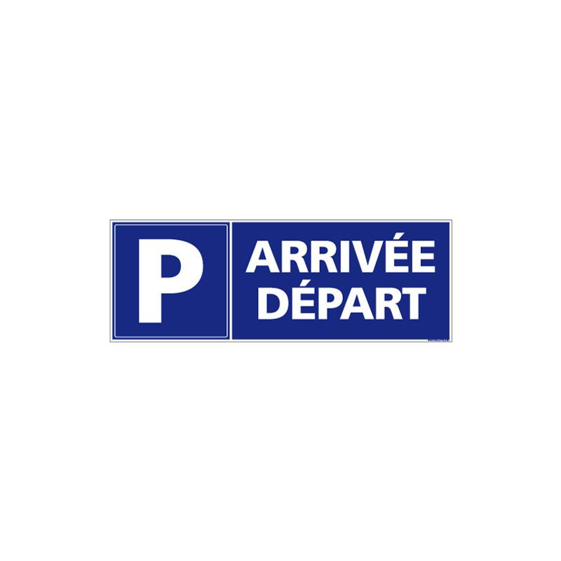 Panneau Parking Arrivée Départ (L0708)