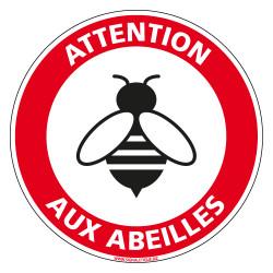 DISQUE ATTENTION AUX ABEILLES (D1048)