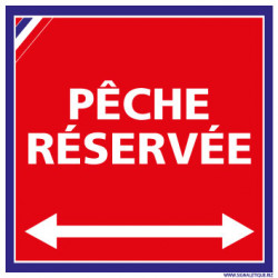 PANNEAU PCHE RESERVE (H0007)