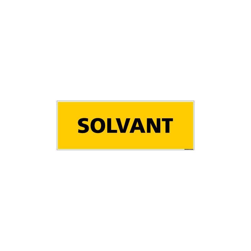 Panneau de Signalisation danger SOLVANT (C0219)