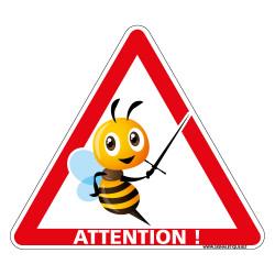 SIGNALISATION ATTENTION AUX ABEILLES (H0340T)