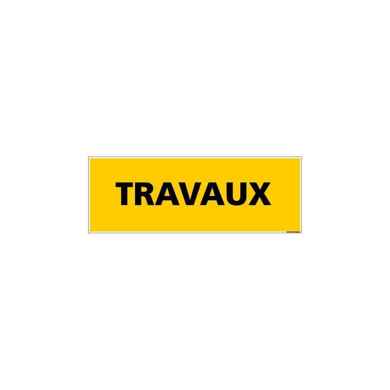 Panneau de Signalisation danger TRAVAUX (C0225)