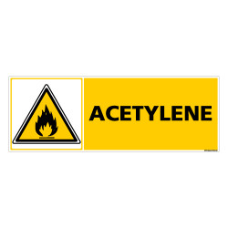 Panneau ACETYLENE (C0249)
