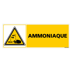 Panneau AMMONIAQUE (C0256)