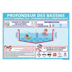 PANNEAU PROFONDEURS DES BASSINS A PERSONNALISER (H0508-PERSO)