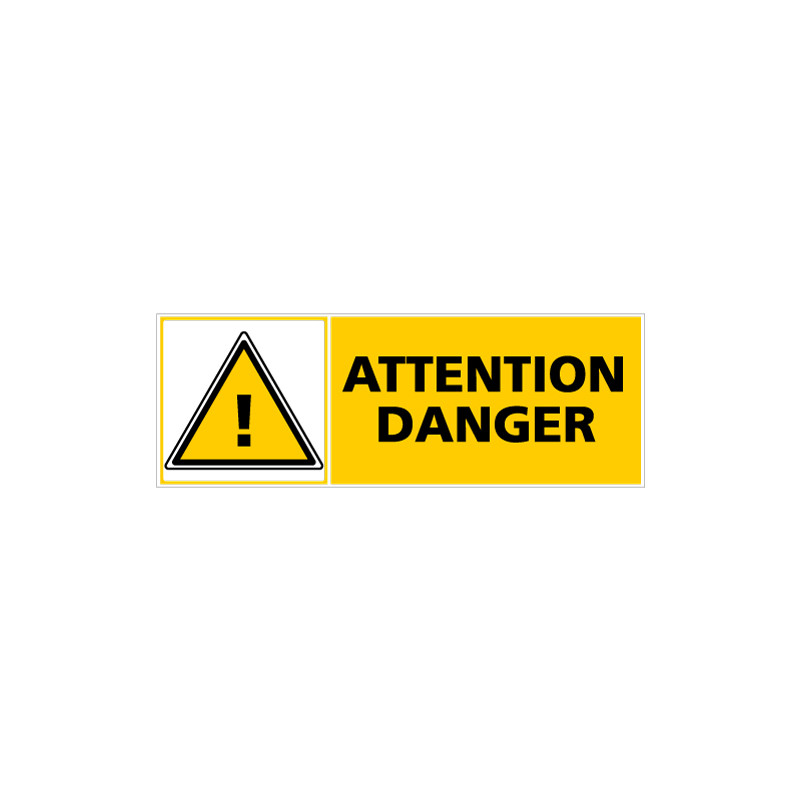 Panneau ATTENTION DANGER (C0275)