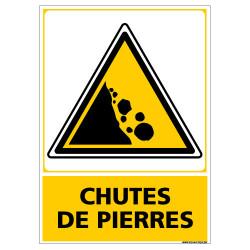 PANNEAU CHUTES DE PIERRES (C1450)