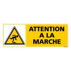 Panneau ATTENTION A LA MARCHE (C0285)