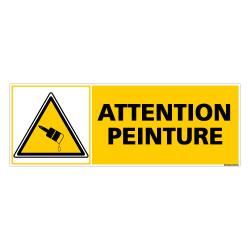 Panneau ATTENTION PEINTURE (C0290)