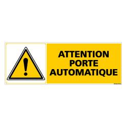 Panneau ATTENTION PORTE AUTOMATIQUE (C0293)