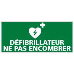 ADHESIF SOL ANTIDERAPANT DEFIBRILLATEUR NE PAS ENCOMBRER (B0448)