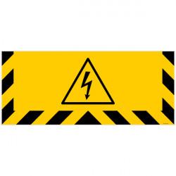 ADHESIF SPECIAL SOL DANGER ELECTRIQUE (G1240)