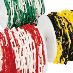 Chaînes plastique de délimitation et signalisation