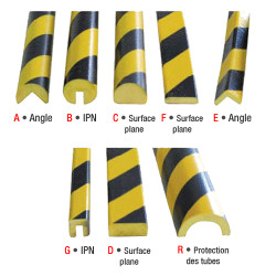 Profilés flexibles - Mousse polyuréthane