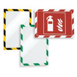 CADRE D'AFFICHAGE DE SECURITE REPOSITIONNABLE A4